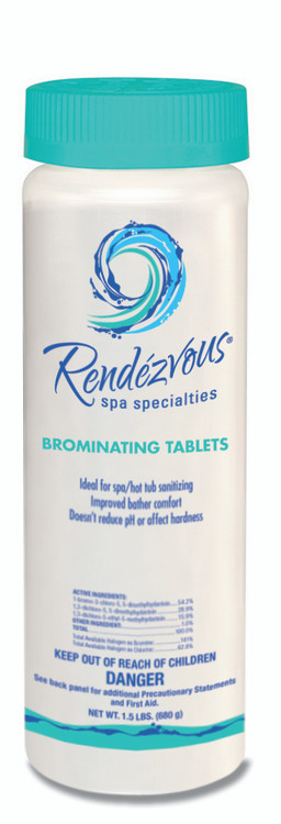 Rendezvous Spa Specialties Brominating Tablets - 1.5 lb