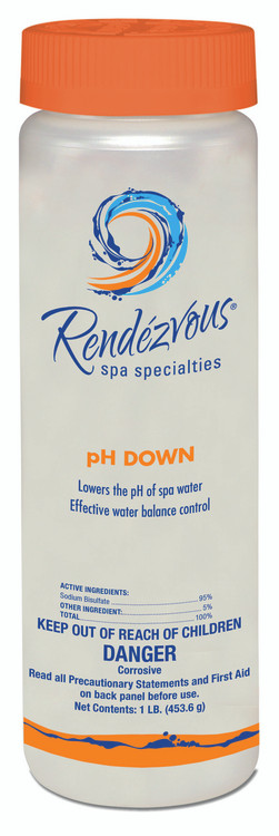 Rendézvous Spa Specialties pH Down - 1 lb  -  106694