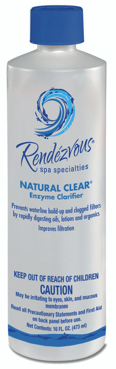 Rendezvous Spa Specialties Natural Clear - 1 pt  -  106704