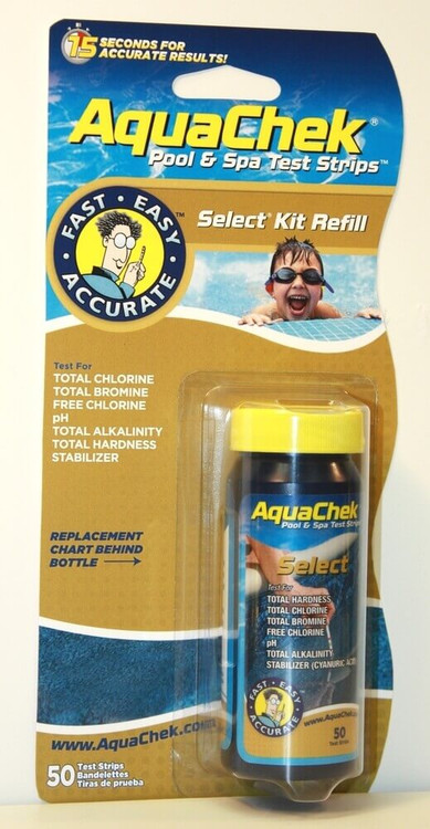 AquaChek Select Refill 7-in-1 Test Strips