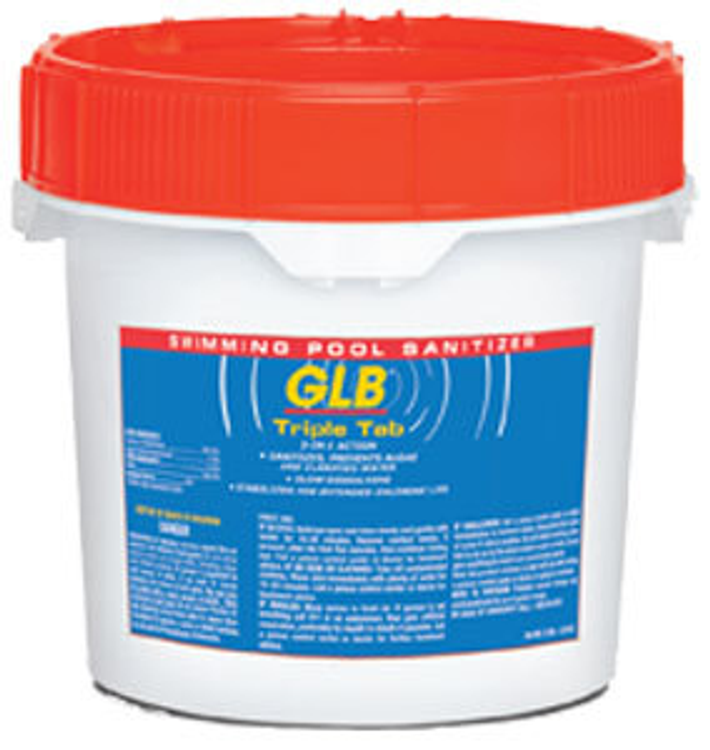 GLB TripleTab chlorinating tablets - 10 lb