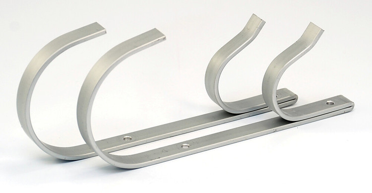 Aluminum Pole and Hose Hanger set