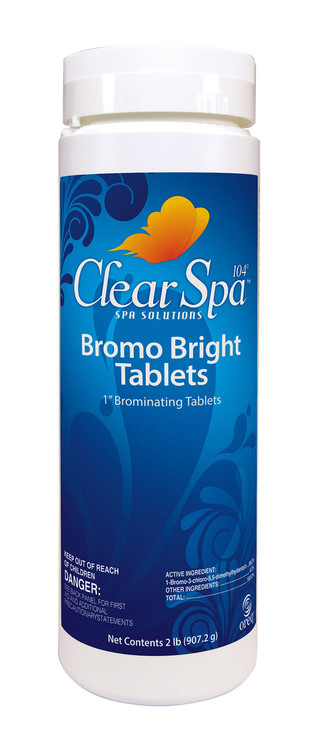 ClearSpa 104 Bromo Bright Tablets - 1.5 lb