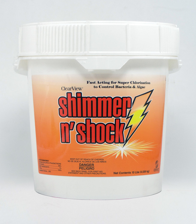 ClearView Shimmer-N' Shock - 10 lb
