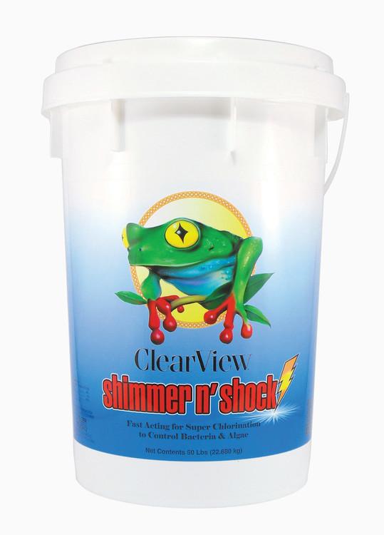 ClearView Shimmer-N' Shock - 50 lb  -  CVDB050