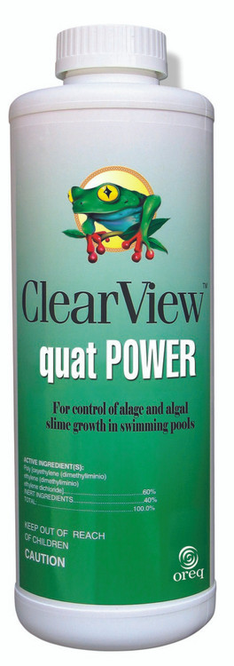 ClearView Quat POWER Non-Metallic Algaecide - 1 Qt