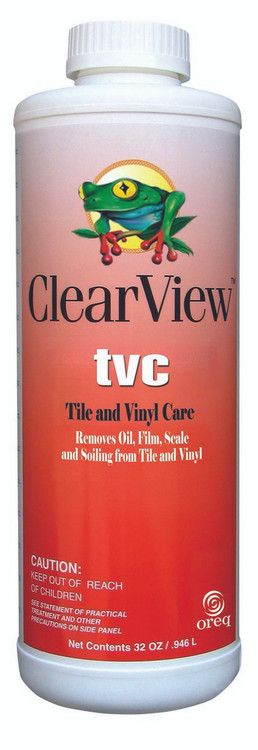 ClearView TVC tile and vinyl cleaner - 1 qt  -  CVLTVCQT12