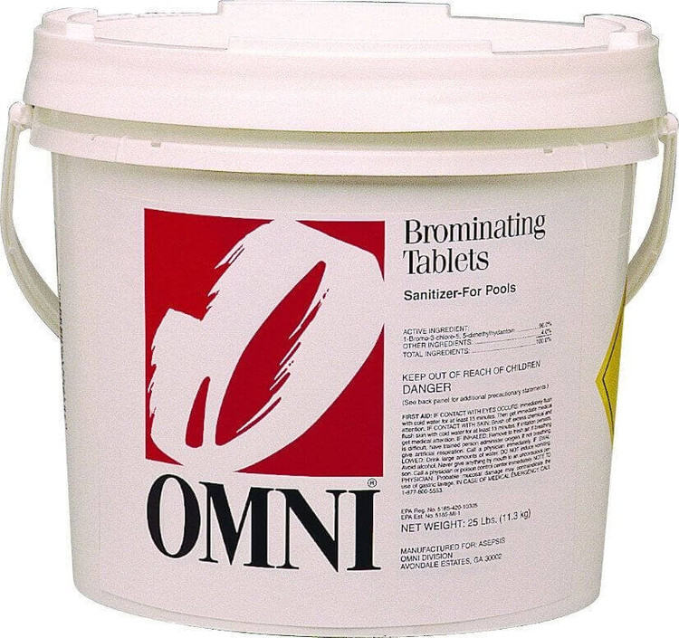 Omni Brominating Tablets - 50 lb  -  22028