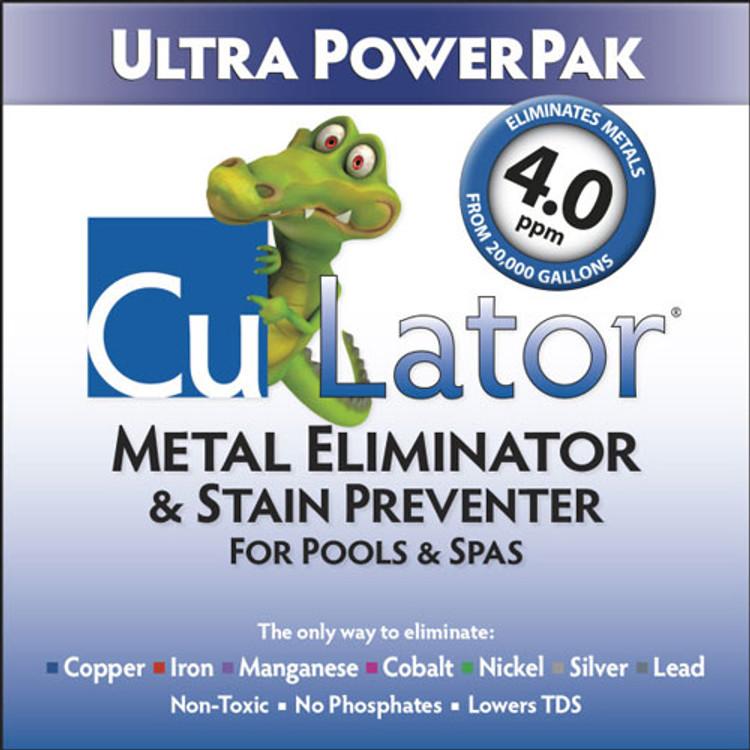 CuLator Ultra PowerPak Metal Remover & Stain Preventer