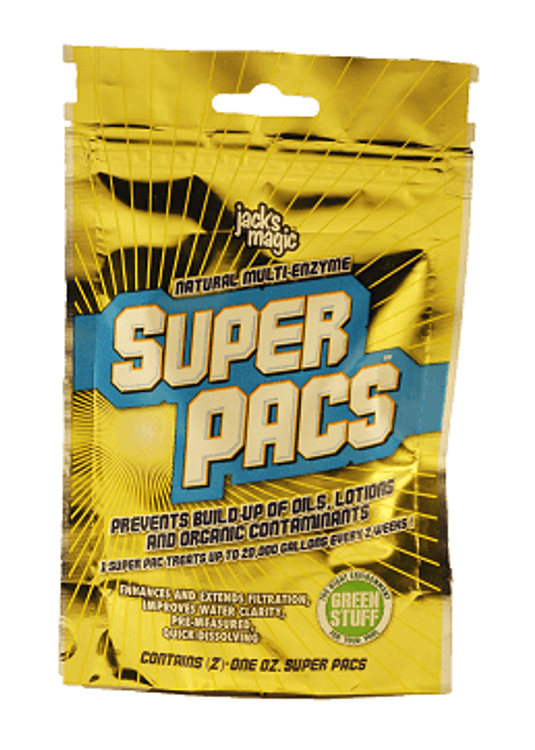 Jack's Magic Super Pacs - Natural Multi-Enzyme (2 count - 1 oz. Pacs)