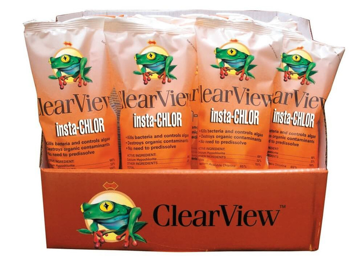 ClearView Insta-Chlor shock - 24 x 1 lb  -  CVIC001-24