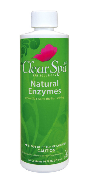 ClearSpa 104 Natural Enzymes - 16 oz  -  CSLNEPT12