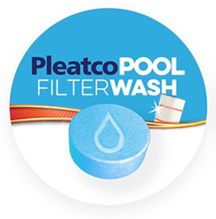Pleatco PWASH-POOL - Filter Wash - Pool Cartridge Cleaning Tablets