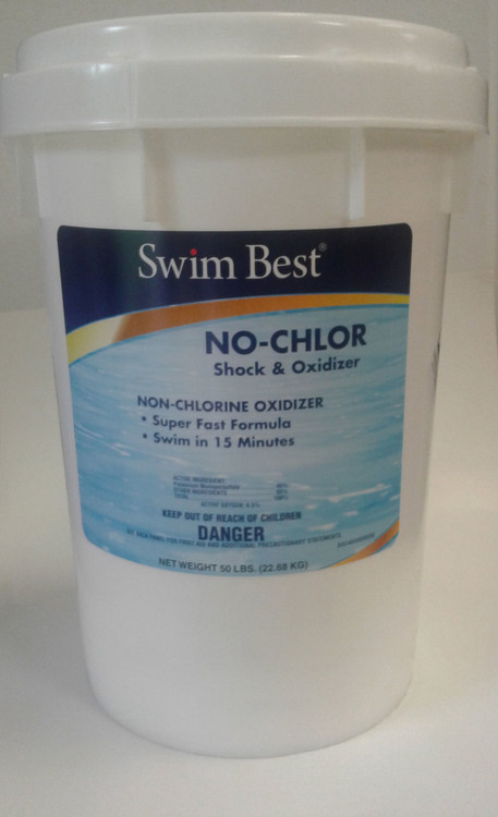 Swim Best No-Chlor non-chlorine shock oxidizer - 50 lb