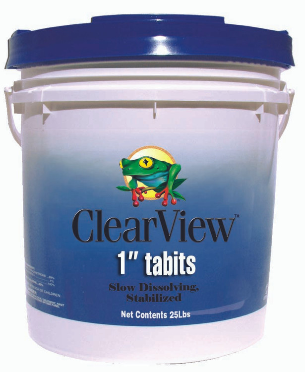 """ClearView 1"""" Tablets - 25 lb"""