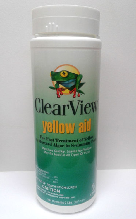 ClearView Yellow Aid Sodium Bromide Crystals - 2lb  -  CVSO002