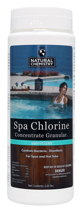 Natural Chemistry Spa Chlorine Concentrate Granular - 2.05 lb