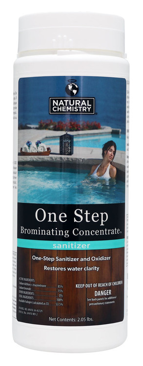 Natural Chemistry One Step Brominating Concentrate - 2.05 lb