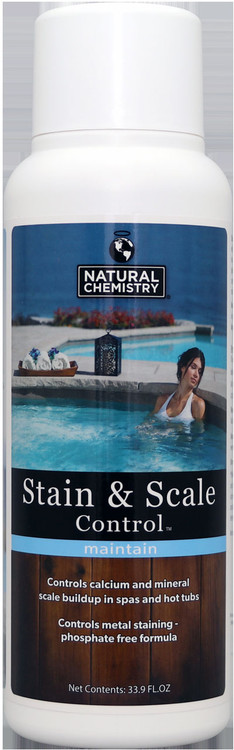 Natural Chemistry Spa Stain & Scale Control - 1 lt
