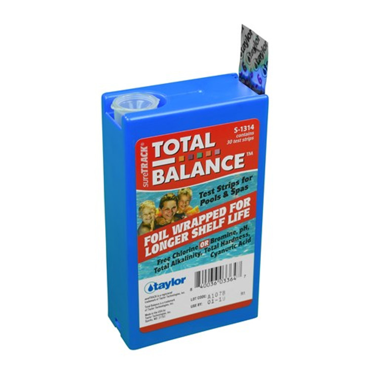 Taylor Technologies sureTRACK Total Balance 6-way Test Strips