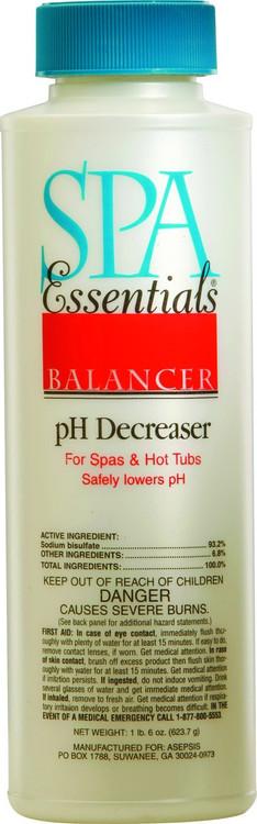 Spa Essentials pH Decreaser - 22 oz