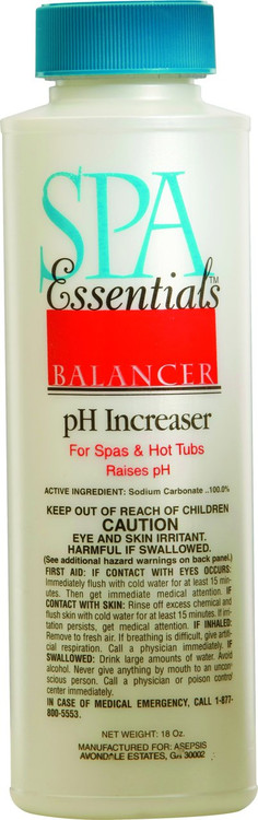 Spa Essentials pH Increaser - 18 oz - 32518
