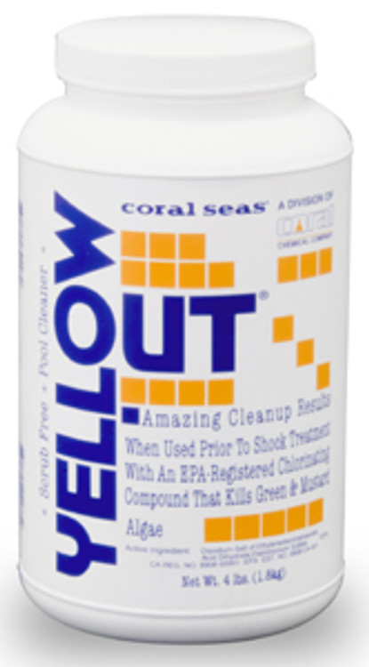 Coral Seas Yellow Out - 4 lb  -  07614