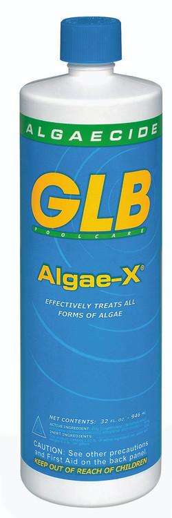 GLB Algae-X algaecide - 1 qt