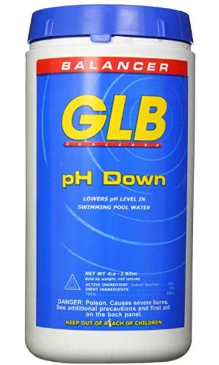 GLB pH Down -  4 lb