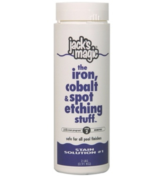 Jack's Magic The Iron Cobalt & Spot Stuff - 2 lb
