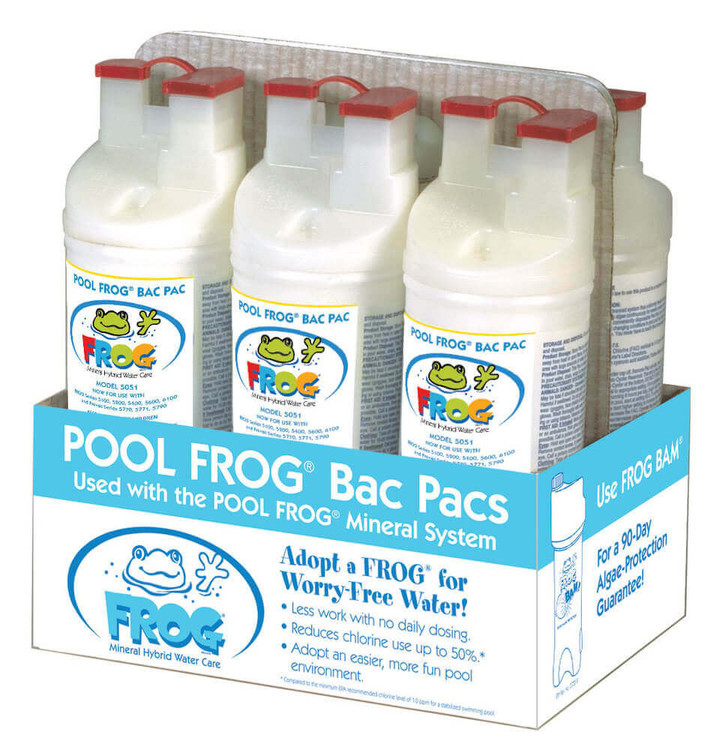 Pool Frog Bac Pac 5051 - 6/pack