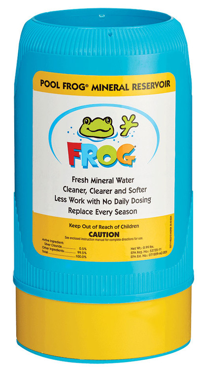 Pool Frog Mineral  Reservoir, Series 6100, for pools up to 25,000 gals