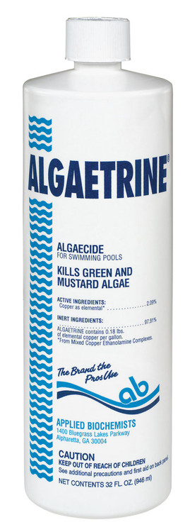 Applied Biochemists Algaetrine algaecide - 1 qt