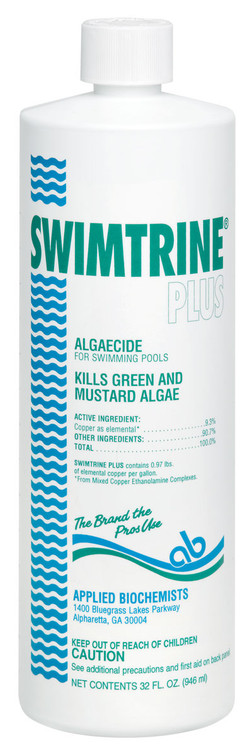 Applied Biochemists Swimtrine Plus algaecide  -  1 qt  -  406103