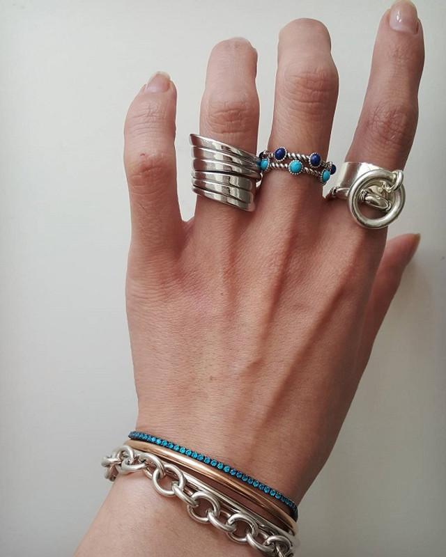 Sterling Silver Rolo Chain Bracelet from kellinsilver.com