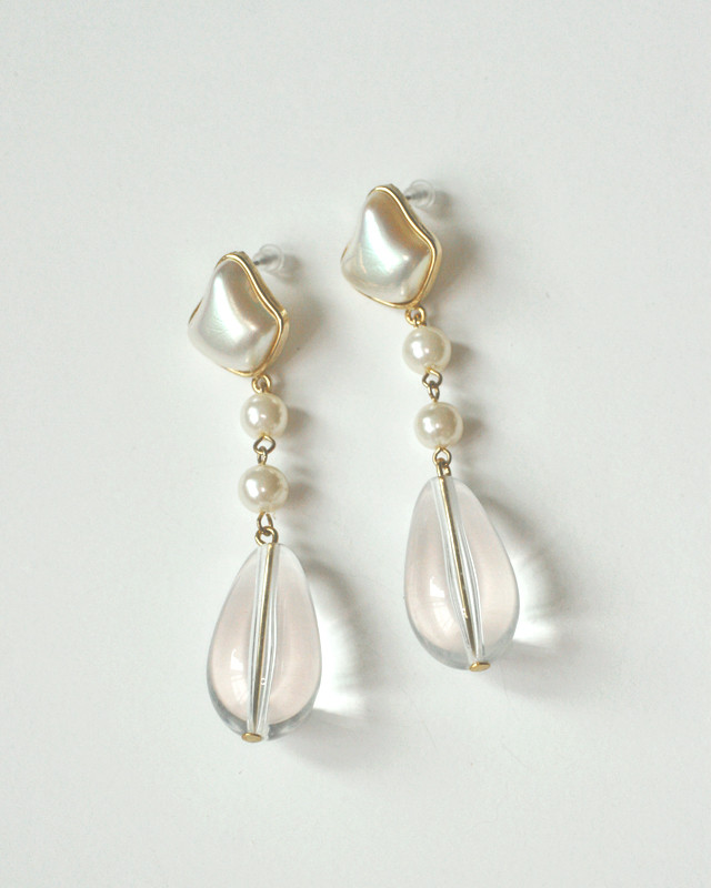 Vintage Pearl Drop Earrings from kellinsilver.com