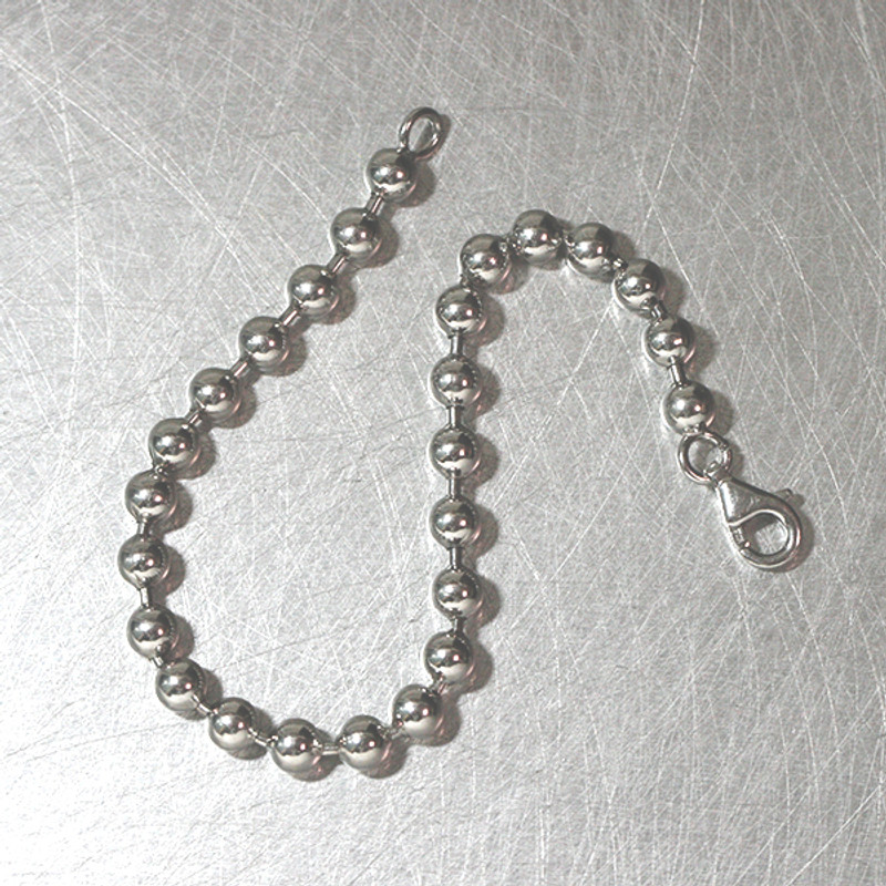 5mm Spacer Ball Sterling Silver Bracelet from kellinsilver.com
