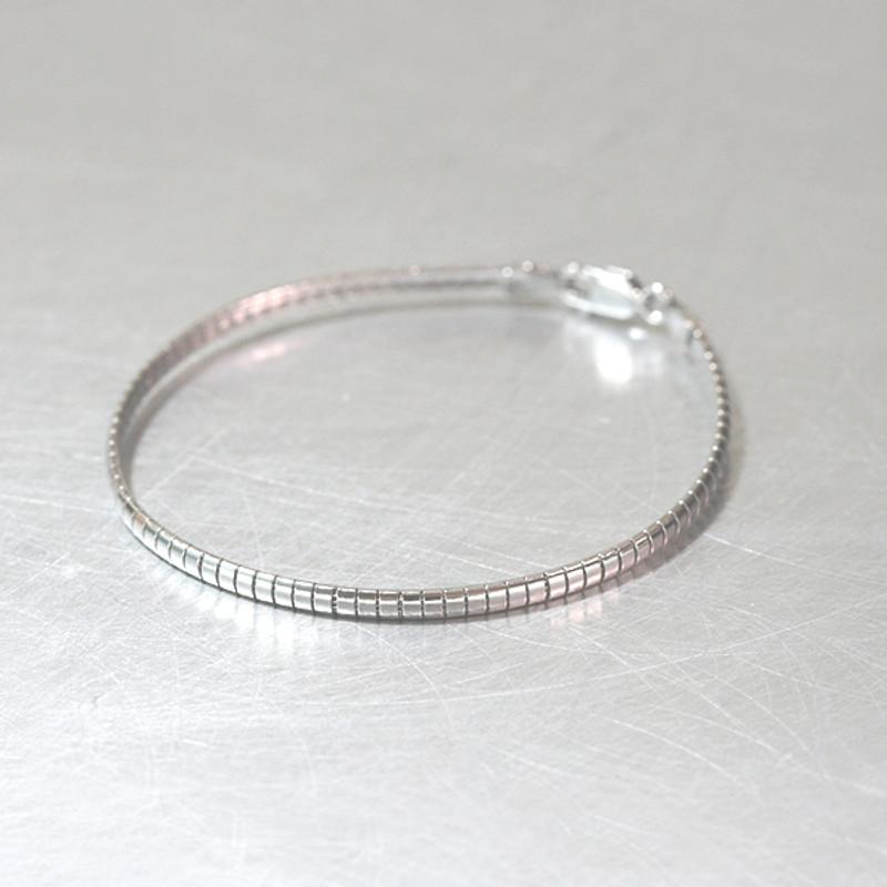 3mm Sterling Silver Box Wire Bracelet from kellinsilver.com