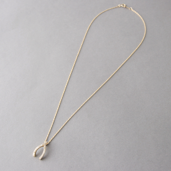 Swarovski yellow gold wishbone necklace sterling silver com swarovski yellow gold wishbone necklace sterling silver from kellinsilver aloadofball Image collections