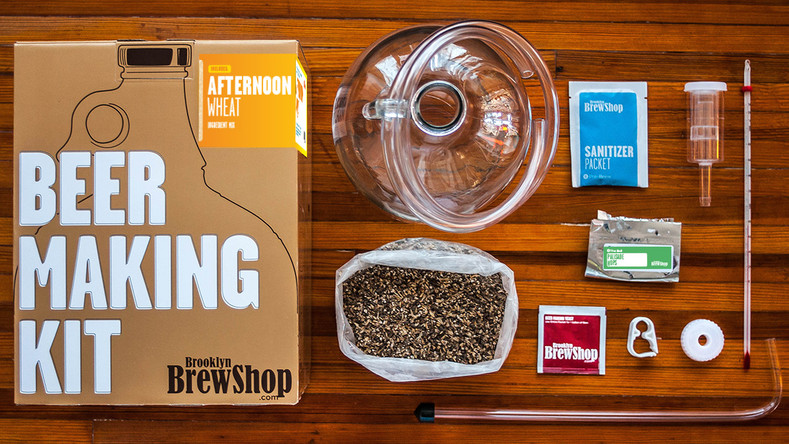 Afternoon Wheat Beer Making Instructions