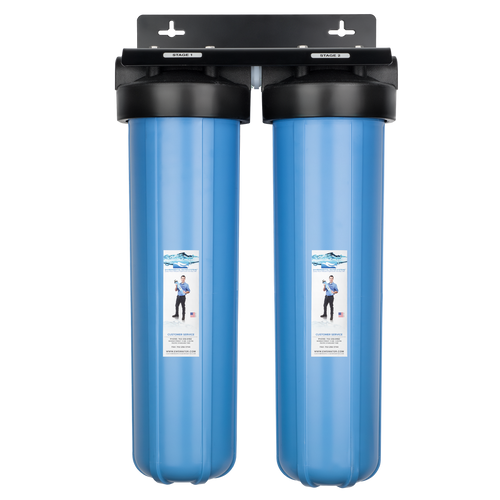 Whole Home Two Stage Cartridge Filtration Unit