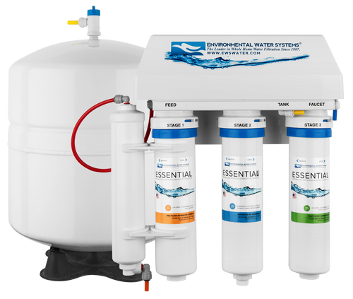 ESSENTIAL RO Four-Stage Reverse Osmosis System (Model #: RO4)