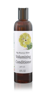 PURAVEDA BIG & BOUNCY VOLUMIZING CONDITIONER - Organic Daily Shine and Body Formula for Fine, Thin & Limp Hair