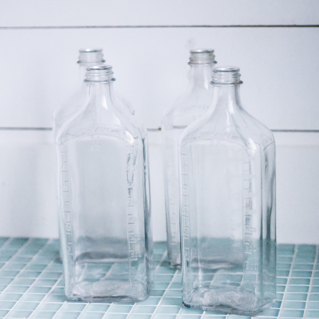 Glass Apothecary Bottle