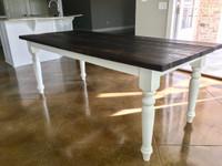 Simple Farm Table