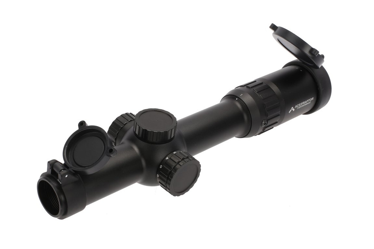 Primary Arms 1-6X24mm FFP Rifle Scope - Illuminated ACSS Raptor 7.62x39mm / 300BLK Reticle