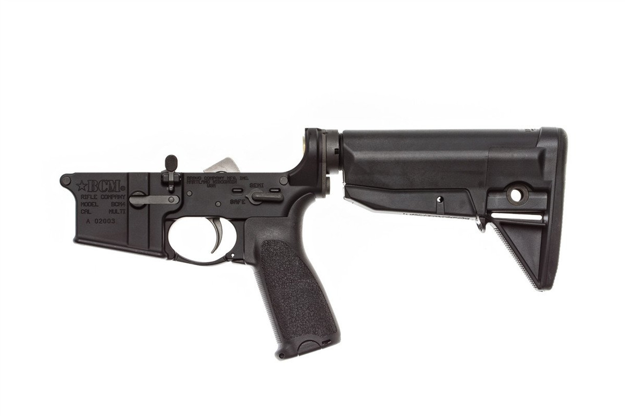 BCM Lower Receiver Group w/ Stock Mod 0 (Black)