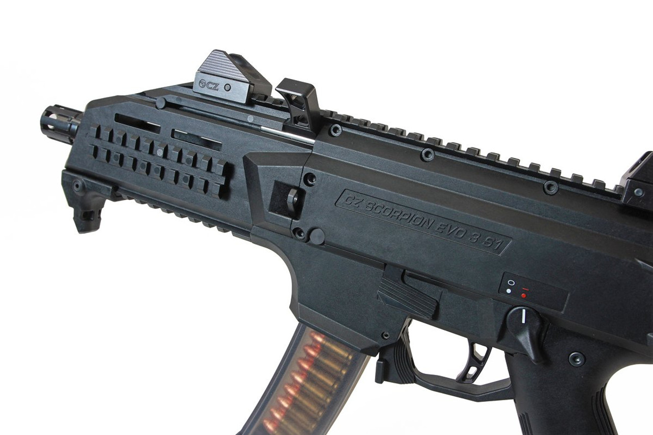 HB Industries CZ Scorpion EVO3 DELTA Trigger (Red or Black)