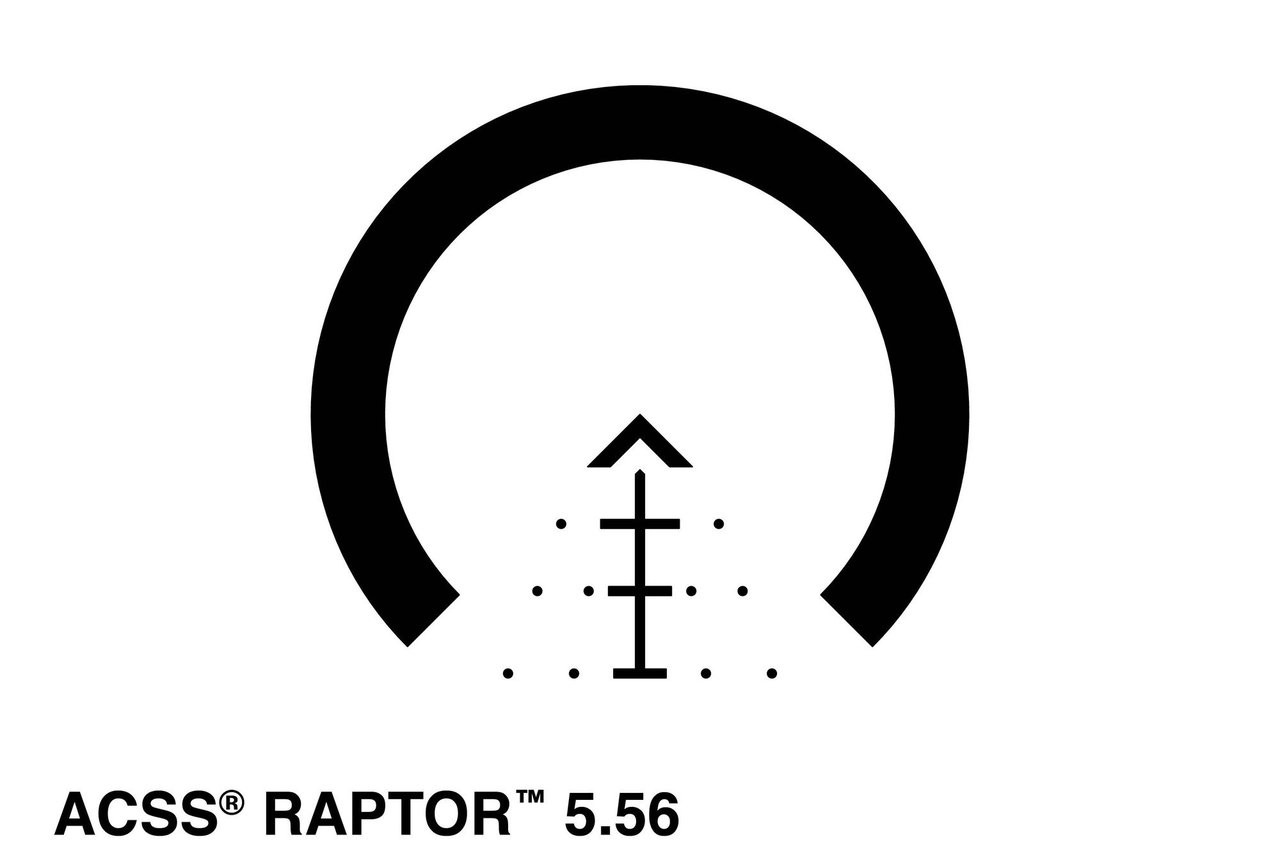 Primary Arms 1-6X24mm FFP Rifle Scope - Illuminated ACSS Raptor 5.56 / .308 Reticle