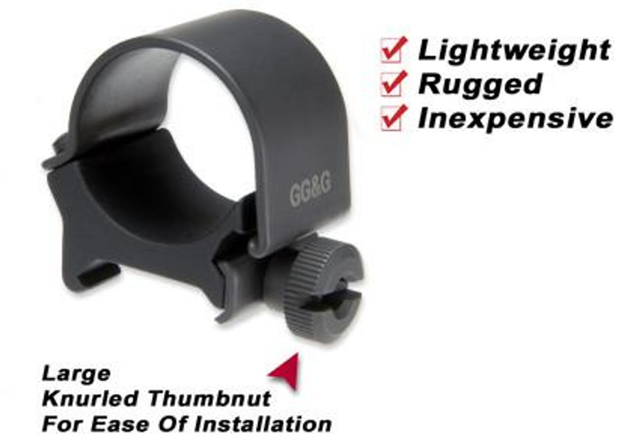 """GG&G 1"""" Flashlight Mounting Ring"""